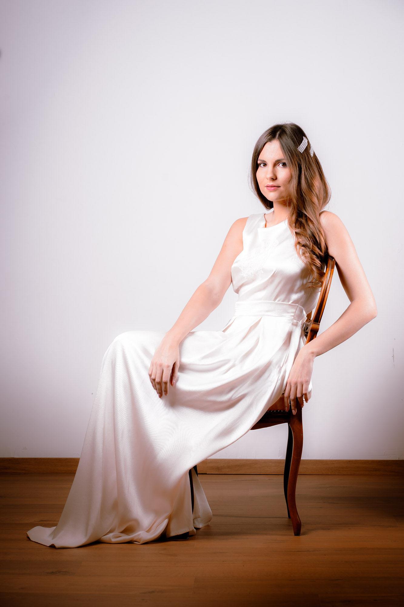 Location robe de mariée La Rochelle robe Victoire face mode