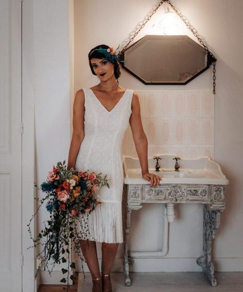Location Robe de mariée La Rochelle Robe Julie face