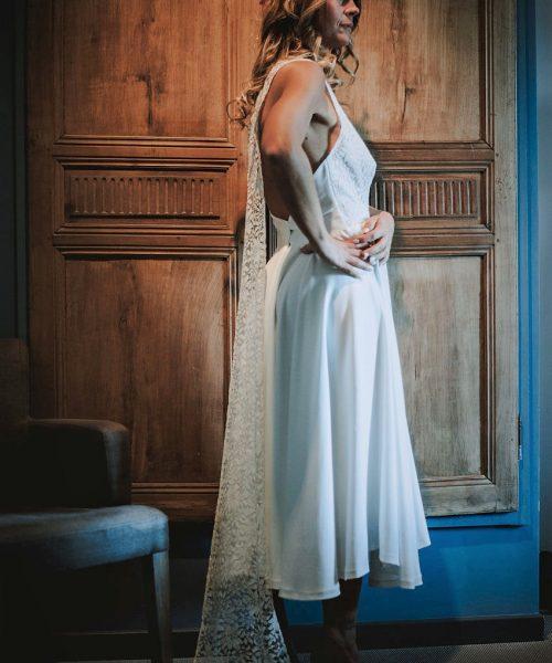 Location Robe de mariée La Rochelle robe Johanna profil